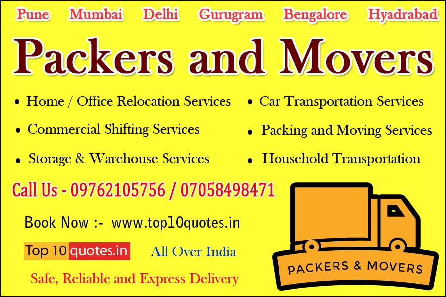 Packers And Movers Pune Top10quotes in pune