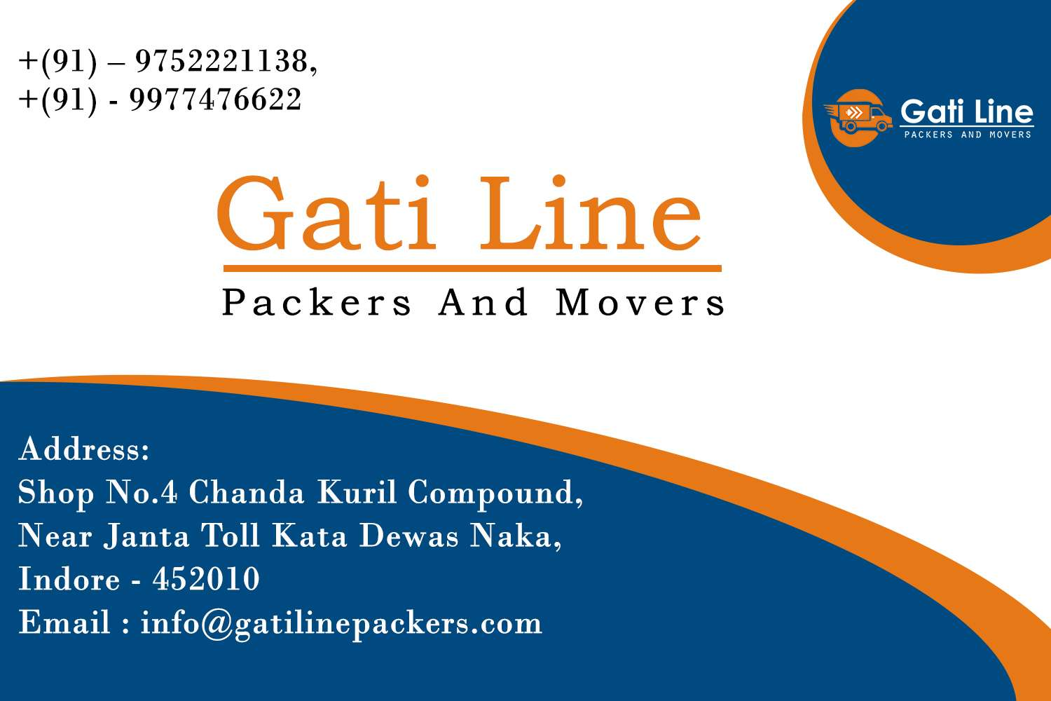 Gati Line Packers And Movers Indore