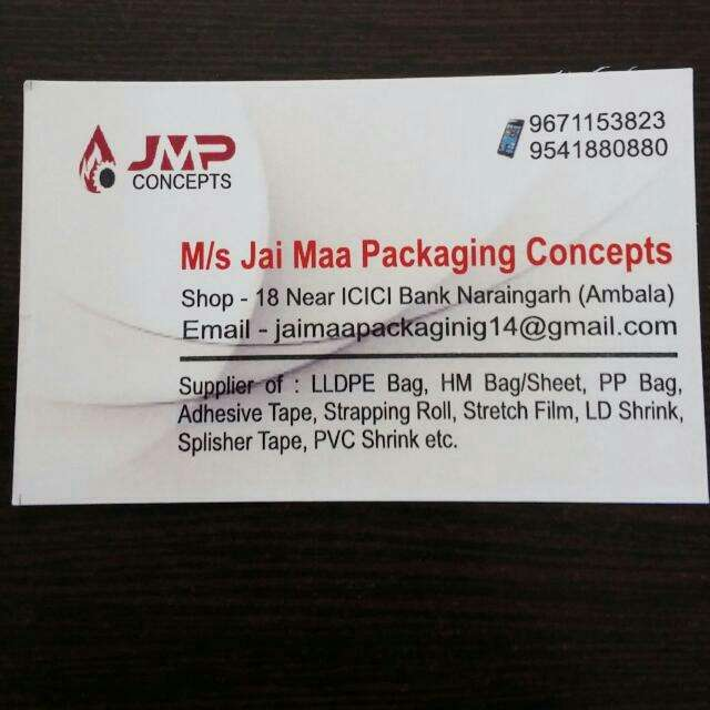 Jai Maa Packaging Concepts Naraingarh