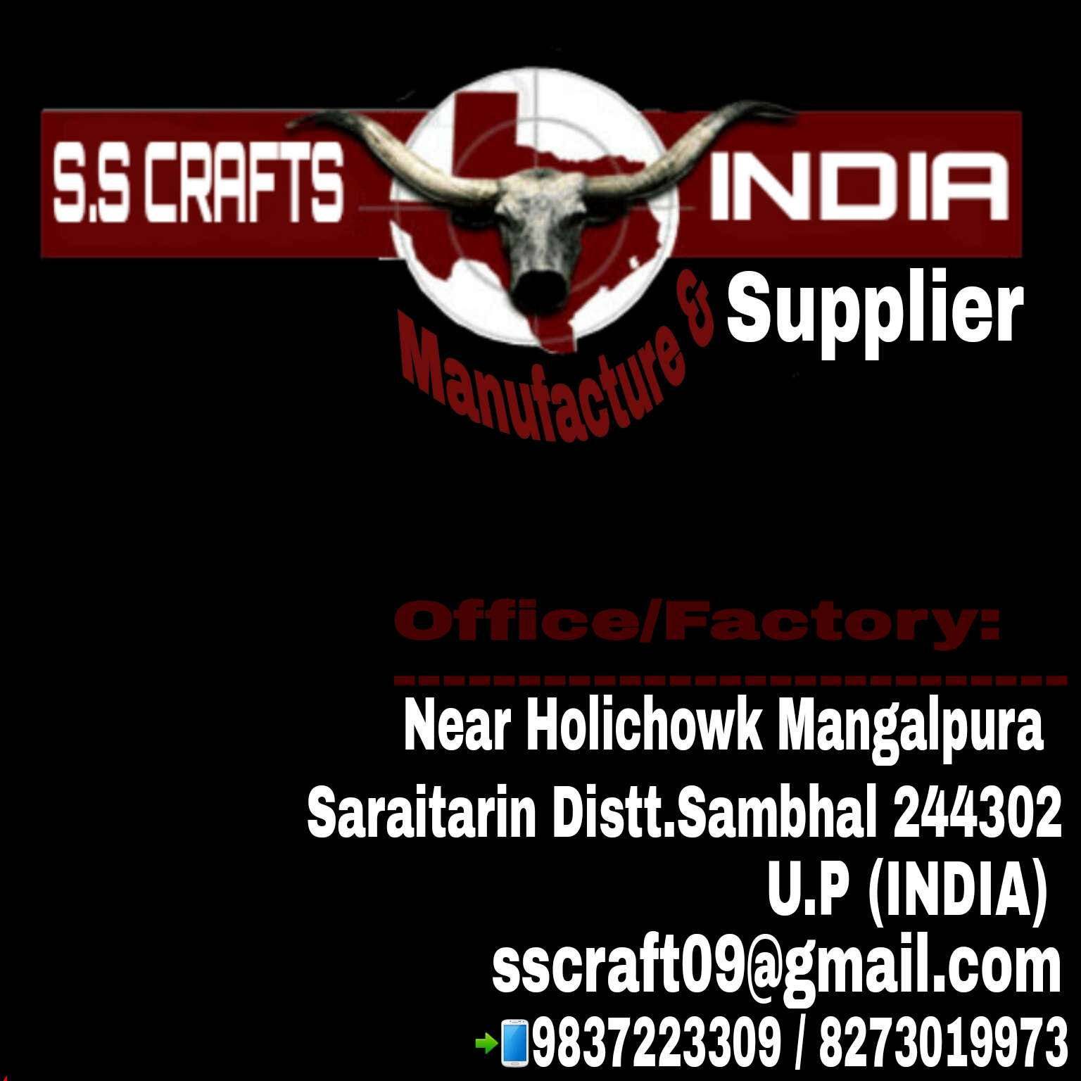 S.S Crafts India Sambhal