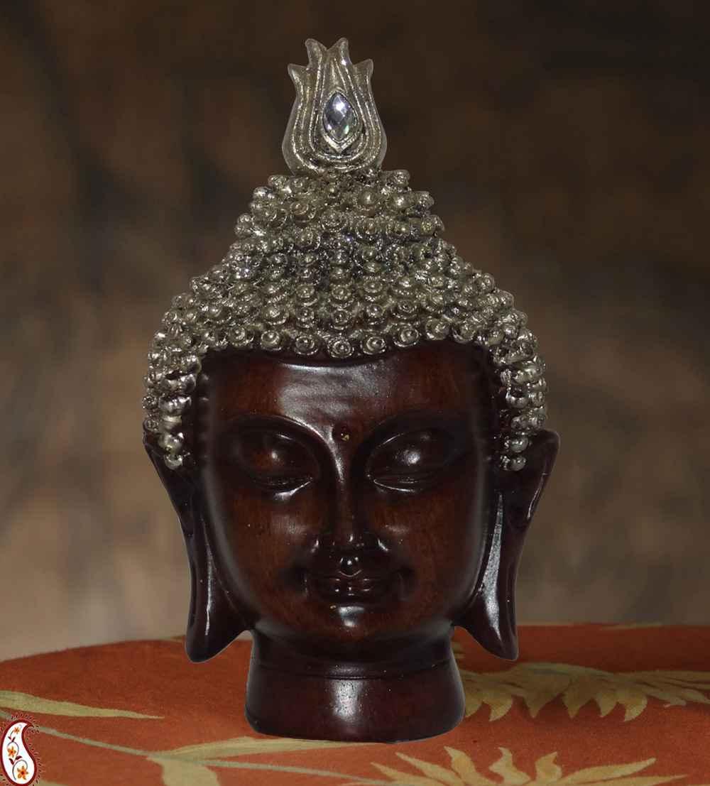 india buddha head big